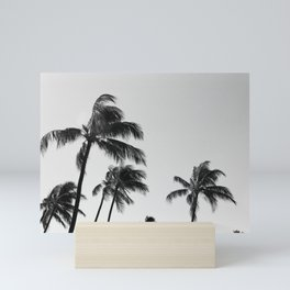 Palm Trees // Maui, Hawaii Mini Art Print
