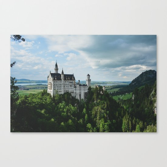 Castle dreaming Canvas Print