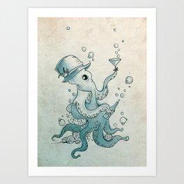 Octoast Art Print