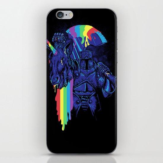 Rainbow harvest (so intense) iPhone Skin