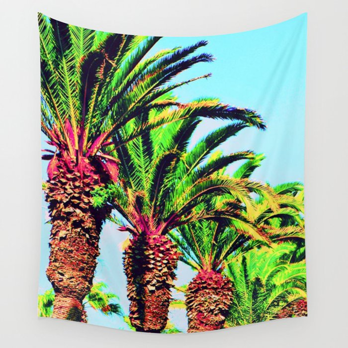 palmiers (Morocco) Wall Tapestry