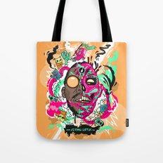Flying Lotus Tote Bag
