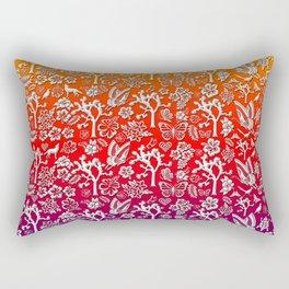 Rainbow White Joshua Tree by CREYES Rectangular Pillow