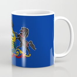 Pennsylvania State Flag Coffee Mug