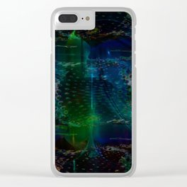 """Submerged 2"" Clear iPhone Case"