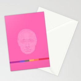 Pink Putin Stationery Cards