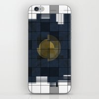 square iPhone & iPod Skins featuring Square by thinschi