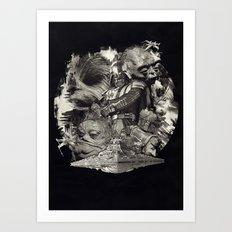 DeathStar. Art Print