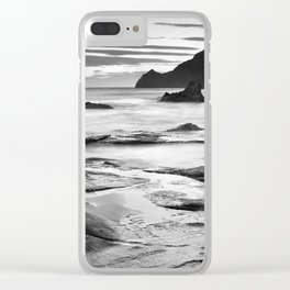"""""""Vela Blanca Tower"""". Bw Clear iPhone Case"""