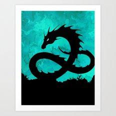 Sea Serpent Art Print