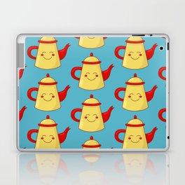 Tea pot smile Laptop & iPad Skin