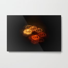 Playing with Fire 20 Metal Print