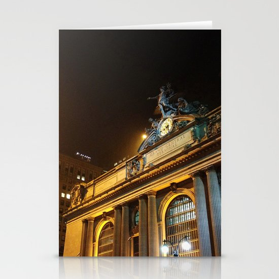 'GRAND CENTRAL NIGHT' Stationery Cards