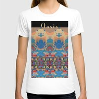 oasis T-shirts featuring Oasis by Jim Pavelle