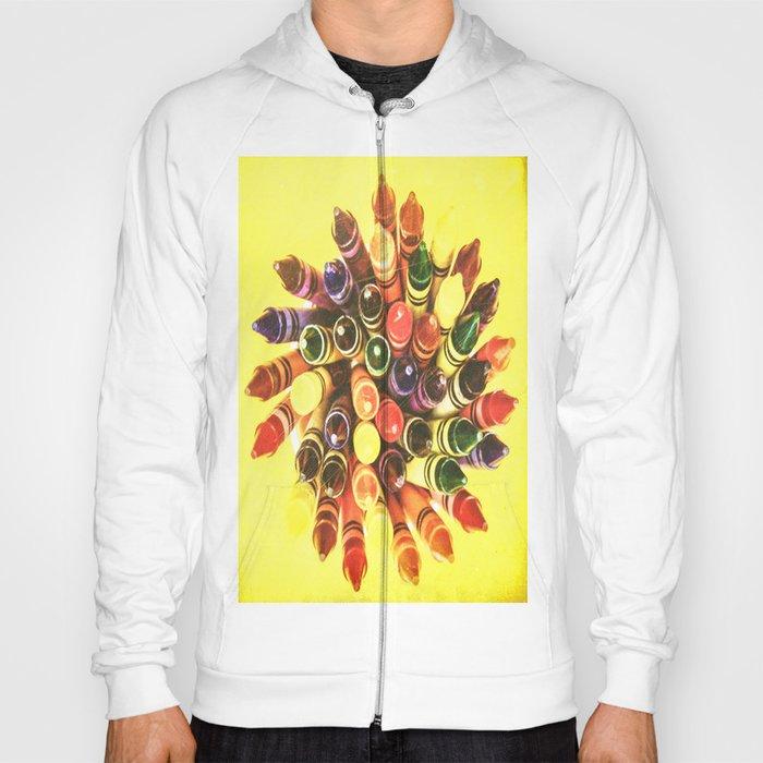 Crayon Love: Crayon Bouquet Hoody