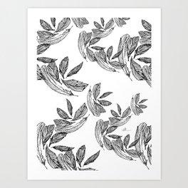 Plume 4 Art Print
