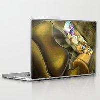 indiana jones Laptop & iPad Skins featuring Indiana Applejack by Kevin Seidman