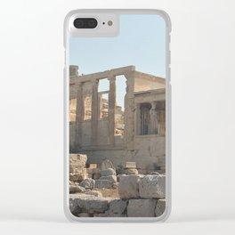 Erechtheion Clear iPhone Case