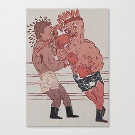 fight night Canvas Print