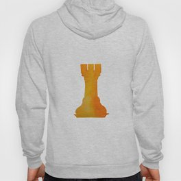 Chess Rook Watercolor Hoody