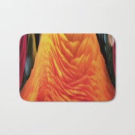491 - Abstract Flower Design Bath Mat