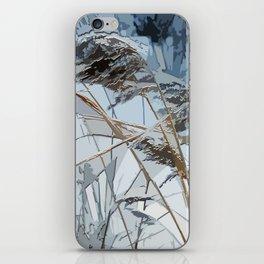 WINTER bulrush iPhone Skin
