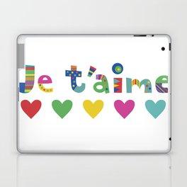 Je t'aime  Laptop & iPad Skin