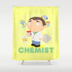 CHEMIST Shower Curtain