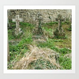 Three Crosses, Oxford, England 2006 Art Print