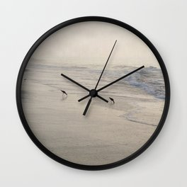 Pipers 3 Wall Clock