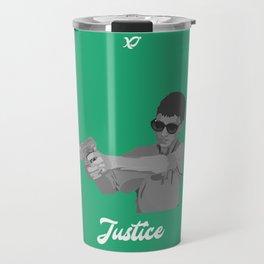Justice Vine Tarot Travel Mug