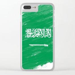 Saudi Arabia's Flag Design Clear iPhone Case