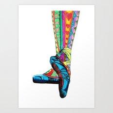 Happy Ballet II Art Print