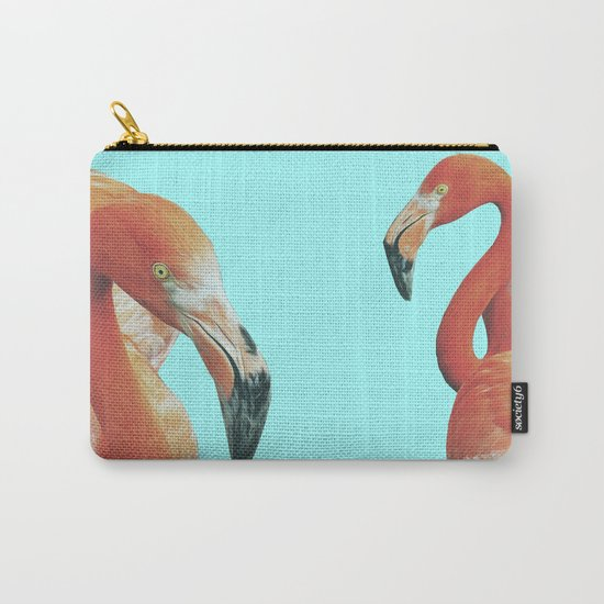 DOUBLE FLAM Carry-All Pouch