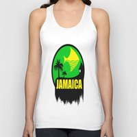 jamaica Tank Tops featuring JAMAICA VACATION  by Robleedesigns