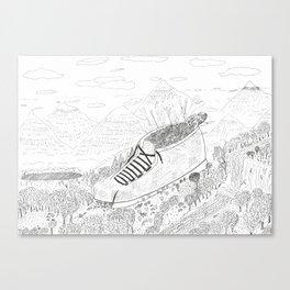 SOS City Canvas Print