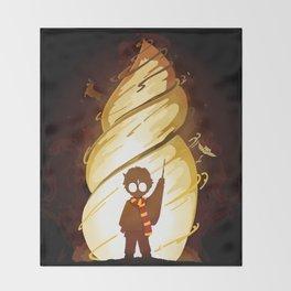 Lovely powa Throw Blanket