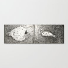 Mating Rituals: The Angler Fish Canvas Print