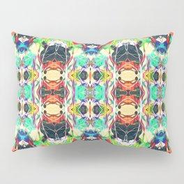 Strands of Color Pattern Pillow Sham