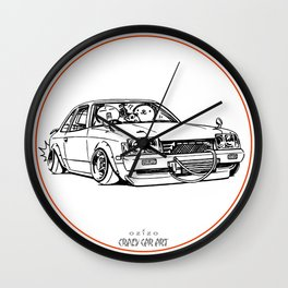 Crazy Car Art 0208 Wall Clock