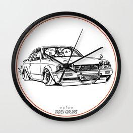 Crazy Car Art 0208 Wall Clock
