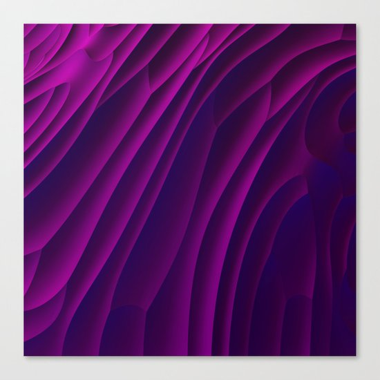 Deep Purple Canvas Print