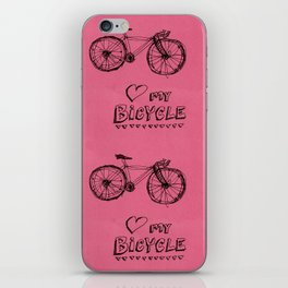 Love my Bicycle iPhone Skin