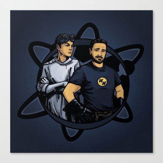 Dr. Cooper's Revenge Canvas Print