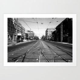 Off Queen - Roncesvalles Avenue - South Art Print