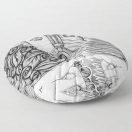 Voluptas: Love and Psyche Floor Pillow