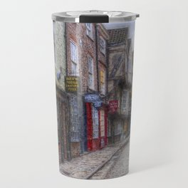 The Shambles York Art Travel Mug