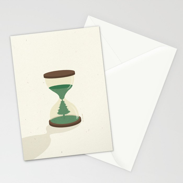 Waiting for Christmas Stationery Cards