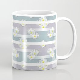 Mix of formal and modern with anemones and stripes 3 Coffee Mug