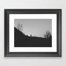 Cortez Deer Framed Art Print